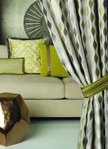 luxurious custom drapery