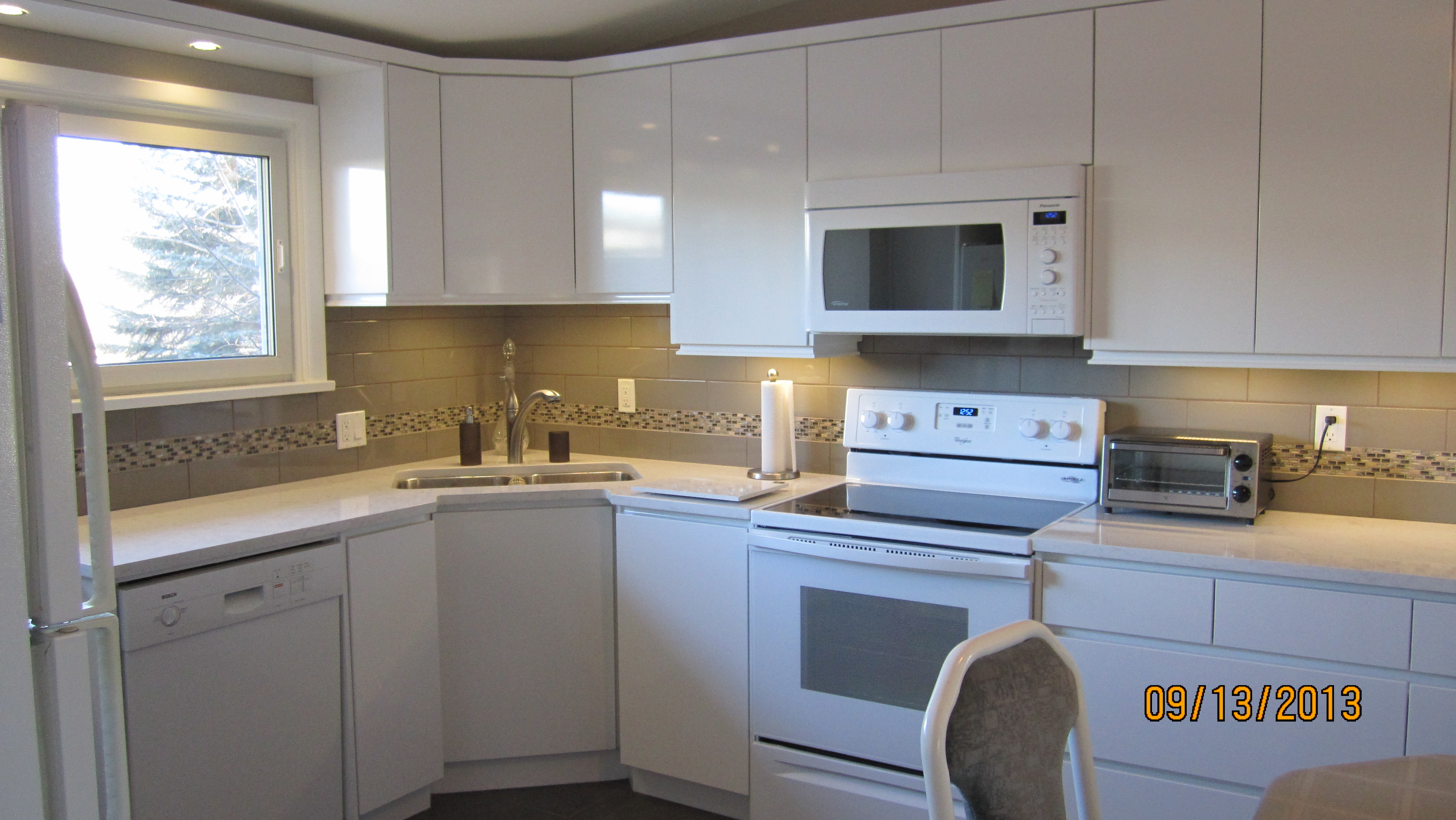 Sleek new kitchen in st boniface inclusivedesigngroup com